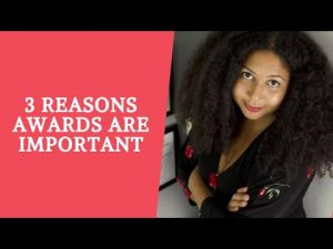 3 Reasons Awards are Important for Artists