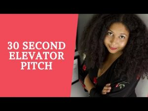 30 Second Elevator Speech for Artists | Tips on What to Do and How to Practice