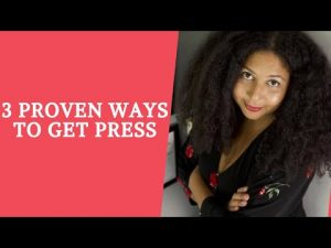 Proven Steps to get press coverage