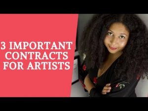 3 Important Contracts for Artists and Creative Professionals