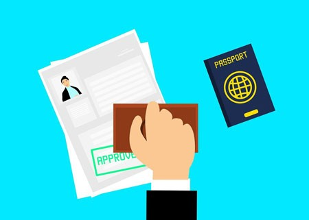 Approved passport graphic