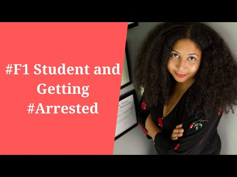 #F1 Student and Getting #Arrested